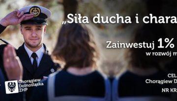 1% dla Chorągwi Dolnośląskiej ZHP