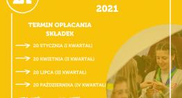 Składki 2021