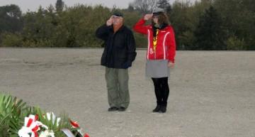 Obchody 72. rocznicy chrztu bojowego żołnierzy 1 Dywizji Piechoty im.gen. Tadeusza Kościuszki podLenino