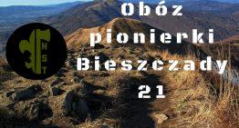 Obóz pionierki – BIESZCZADY '21